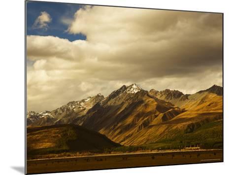 Ben Ohau Range, Canterbury, South Island, New Zealand, Pacific-Jochen Schlenker-Mounted Photographic Print