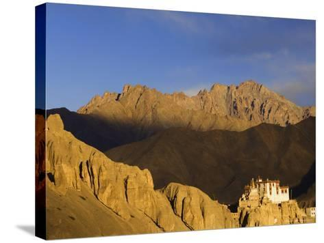 Lamayuru Gompa (Monastery), Lamayuru, Ladakh, Indian Himalayas, India, Asia-Jochen Schlenker-Stretched Canvas Print
