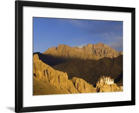 Lamayuru Gompa (Monastery), Lamayuru, Ladakh, Indian Himalayas, India, Asia-Jochen Schlenker-Framed Art Print