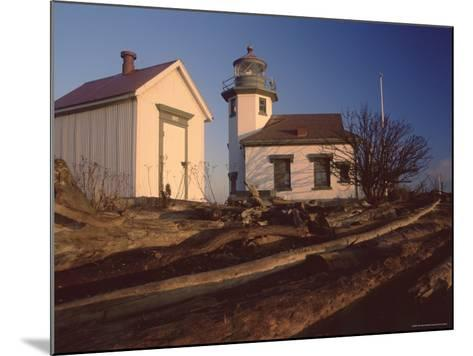 Point Robinson Lighthouse, Vashon Island, Washington State, United States of America, North America-Colin Brynn-Mounted Photographic Print