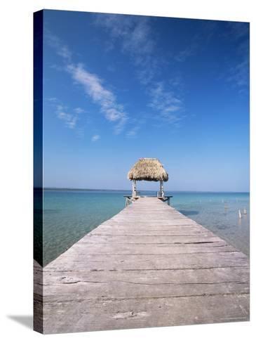 Lago Peten Itza, El Remate, Guatemala, Central America-Colin Brynn-Stretched Canvas Print