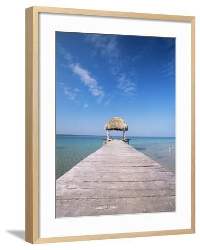 Lago Peten Itza, El Remate, Guatemala, Central America-Colin Brynn-Framed Art Print