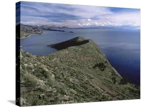 Landscape, Isla Del Sol, Lago Titicaca (Lake Titicaca), Bolivia, South America-Colin Brynn-Stretched Canvas Print