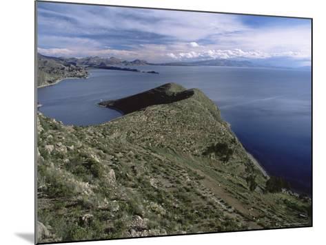 Landscape, Isla Del Sol, Lago Titicaca (Lake Titicaca), Bolivia, South America-Colin Brynn-Mounted Photographic Print