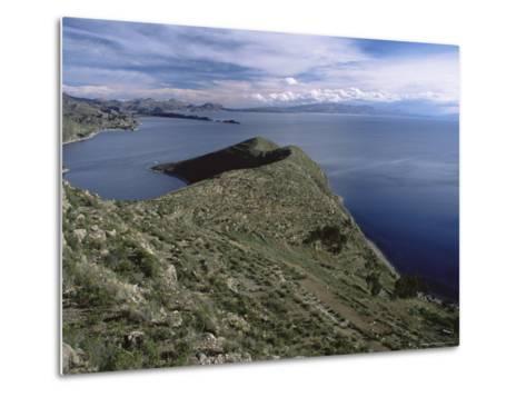 Landscape, Isla Del Sol, Lago Titicaca (Lake Titicaca), Bolivia, South America-Colin Brynn-Metal Print