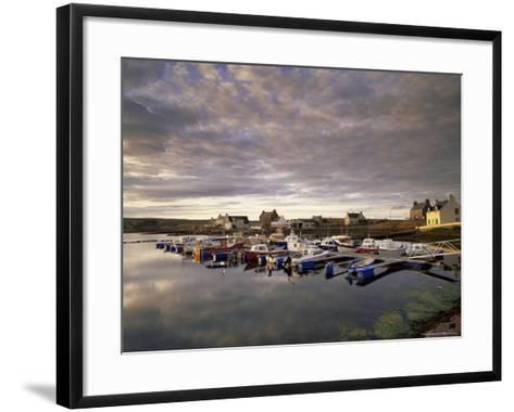 Walls, West Mainland, Shetland Islands, Scotland, United Kingdom, Europe-Patrick Dieudonne-Framed Art Print