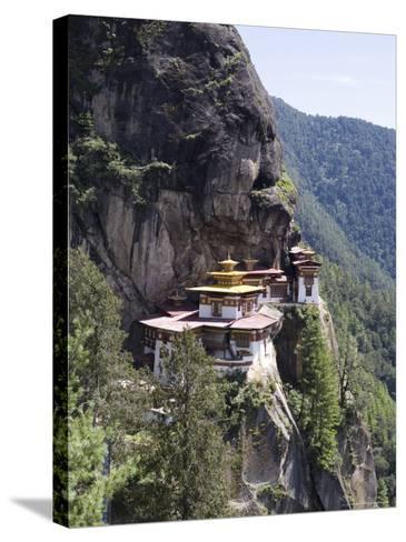 Taktshang Goemba (Tiger's Nest) Monastery, Paro, Bhutan, Asia-Angelo Cavalli-Stretched Canvas Print