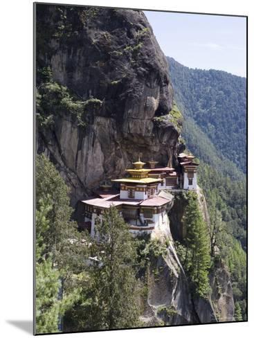 Taktshang Goemba (Tiger's Nest) Monastery, Paro, Bhutan, Asia-Angelo Cavalli-Mounted Photographic Print