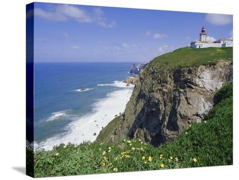 Cabo Da Roca's Westernmost Point, Sintra-Cascais Natural Park, Estremadura, Portugal-Robert Francis-Stretched Canvas Print