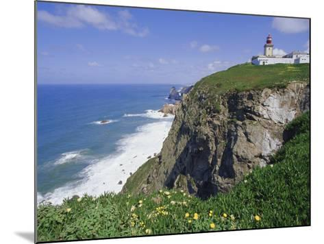 Cabo Da Roca's Westernmost Point, Sintra-Cascais Natural Park, Estremadura, Portugal-Robert Francis-Mounted Photographic Print