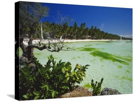 The West Coast of the Island of Boracay, off the Coast of Panay, Philippines, Asia-Robert Francis-Stretched Canvas Print