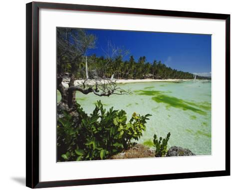 The West Coast of the Island of Boracay, off the Coast of Panay, Philippines, Asia-Robert Francis-Framed Art Print