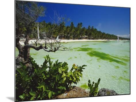 The West Coast of the Island of Boracay, off the Coast of Panay, Philippines, Asia-Robert Francis-Mounted Photographic Print
