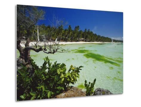 The West Coast of the Island of Boracay, off the Coast of Panay, Philippines, Asia-Robert Francis-Metal Print