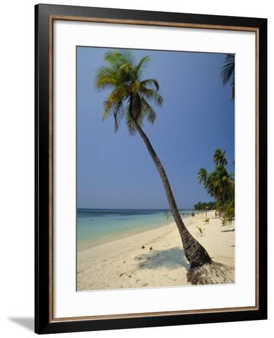 West Bay, Roatan, Largest of the Bay Islands, Honduras, Caribbean, Central America-Robert Francis-Framed Art Print