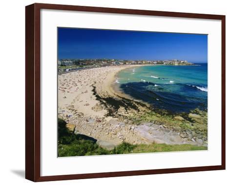 Bondi Beach, One of the City's Southern Ocean Suburbs, Sydney, New South Wales, Australia-Robert Francis-Framed Art Print
