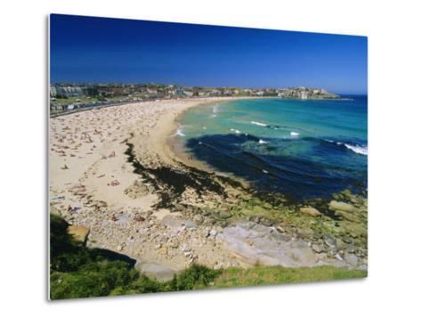 Bondi Beach, One of the City's Southern Ocean Suburbs, Sydney, New South Wales, Australia-Robert Francis-Metal Print