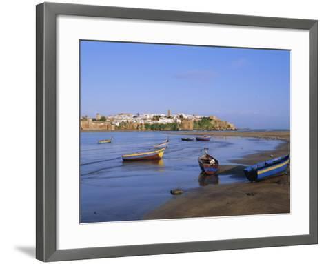 Rabat, Morocco, North Africa-Bruno Morandi-Framed Art Print