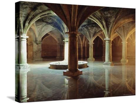 Ancient Portuguese Cistern, El Jadida, Atlantic Coast, Morocco, Africa-Bruno Morandi-Stretched Canvas Print