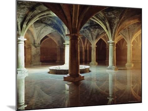 Ancient Portuguese Cistern, El Jadida, Atlantic Coast, Morocco, Africa-Bruno Morandi-Mounted Photographic Print