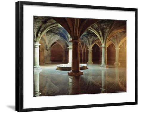 Ancient Portuguese Cistern, El Jadida, Atlantic Coast, Morocco, Africa-Bruno Morandi-Framed Art Print