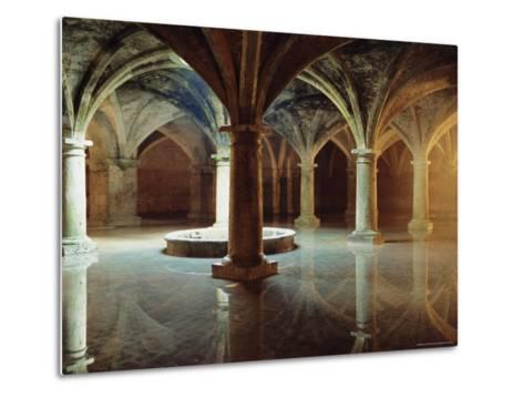 Ancient Portuguese Cistern, El Jadida, Atlantic Coast, Morocco, Africa-Bruno Morandi-Metal Print