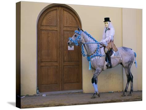 Oristano-La Santiglia Carnival, Sardinia, Italy, Europe-Bruno Morandi-Stretched Canvas Print