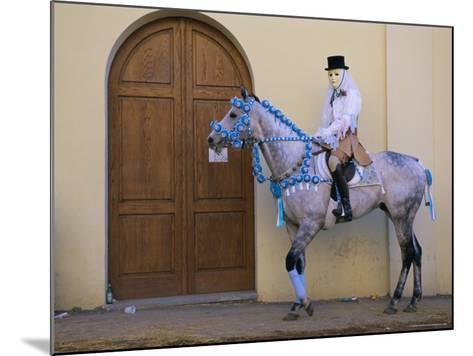 Oristano-La Santiglia Carnival, Sardinia, Italy, Europe-Bruno Morandi-Mounted Photographic Print