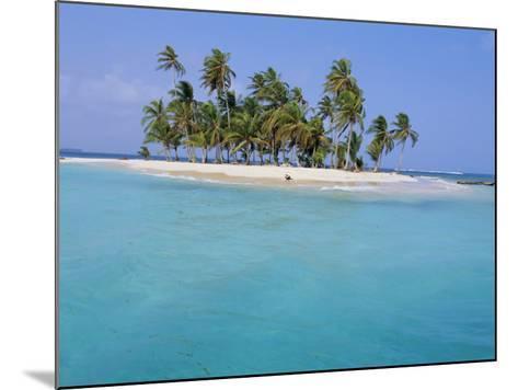 Tropical Island, Iles Los Grillos, Rio Sidra, San Blas Archipelago, Panama, Central America-Bruno Morandi-Mounted Photographic Print