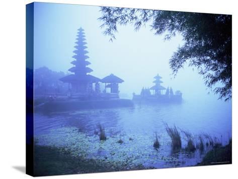 Hindu Temple of Bataun in the Mist, Island of Bali, Indonesia, Southeast Asia, Asia-Bruno Morandi-Stretched Canvas Print