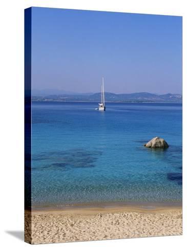 Spargi, a Small Island off the Northern Coast of Sardinia, Italy-Bruno Morandi-Stretched Canvas Print
