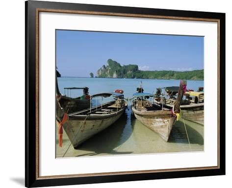Koh Phi Phi, Thailand, Asia-Bruno Morandi-Framed Art Print