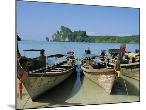 Koh Phi Phi, Thailand, Asia-Bruno Morandi-Mounted Photographic Print