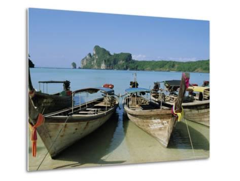 Koh Phi Phi, Thailand, Asia-Bruno Morandi-Metal Print