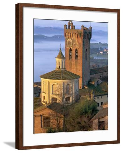 San Miniato, Tuscany, Italy-Bruno Morandi-Framed Art Print