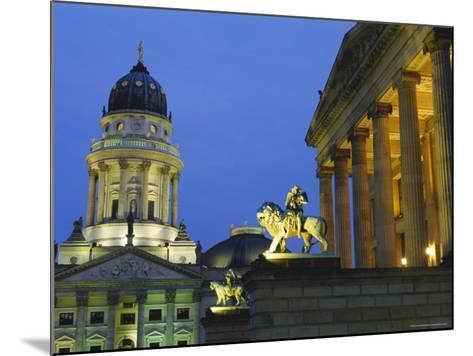 Gendarmenmarkt, Berlin, Germany, Europe-Bruno Morandi-Mounted Photographic Print