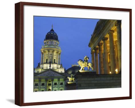 Gendarmenmarkt, Berlin, Germany, Europe-Bruno Morandi-Framed Art Print