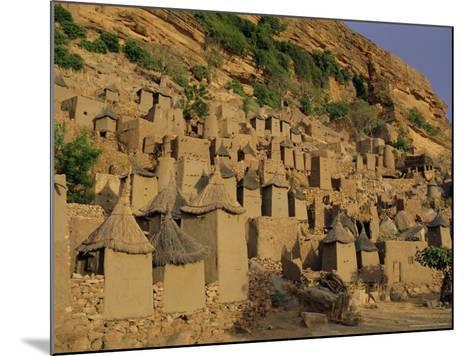 Village of Banani, Sanga (Sangha) Region, Bandiagara Escarpment, Dogon Region, Mali, Africa-Bruno Morandi-Mounted Photographic Print