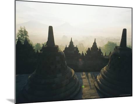 Borobudur, Java, Indonesia-J P De Manne-Mounted Photographic Print
