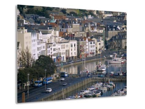 View from Fort George, Saint Peter Port, Guernsey, Channel Islands, United Kingdom, Europe-J P De Manne-Metal Print