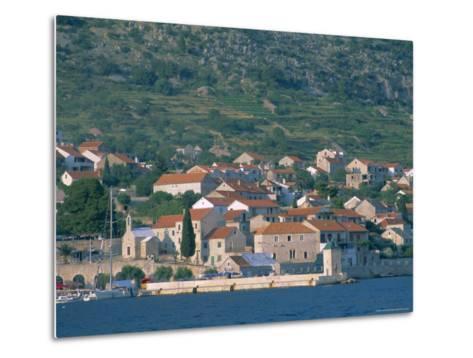 Bol Village, Brac Island, Dalmatia, Dalmatian Coast, Adriatic, Croatia, Europe-J P De Manne-Metal Print
