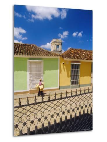 Main Square, Trinidad, Sancti Spirtus Region, Cuba-J P De Manne-Metal Print