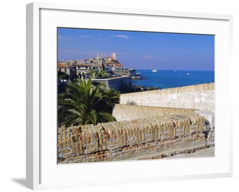 Antibes, Old Town, Alpes Maritime, Cote d'Azur, France-J P De Manne-Framed Art Print
