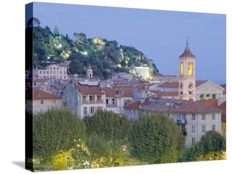 The Old Town, Nice, Provence, France-J P De Manne-Stretched Canvas Print