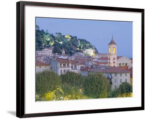 The Old Town, Nice, Provence, France-J P De Manne-Framed Art Print