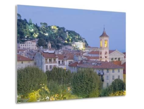 The Old Town, Nice, Provence, France-J P De Manne-Metal Print
