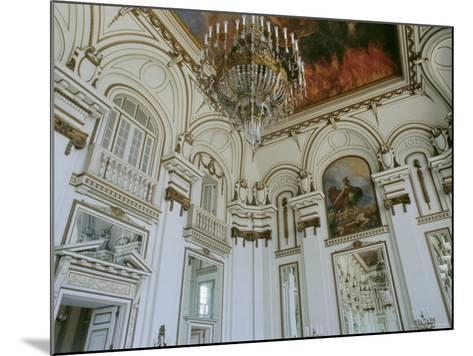 Museum of the Revolution, Old Presidential Palace, Havana, Cuba-J P De Manne-Mounted Photographic Print