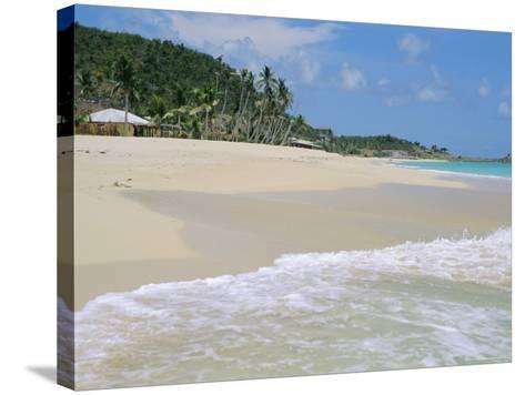 Johnson's Point Beach, South-West Coast, Antigua, West Indies, Caribbean-J P De Manne-Stretched Canvas Print