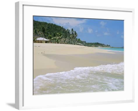 Johnson's Point Beach, South-West Coast, Antigua, West Indies, Caribbean-J P De Manne-Framed Art Print
