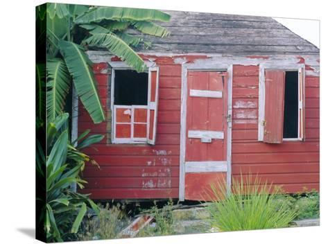 Old Chattel House, St. John's, Antigua, West Indies, Caribbean-J P De Manne-Stretched Canvas Print